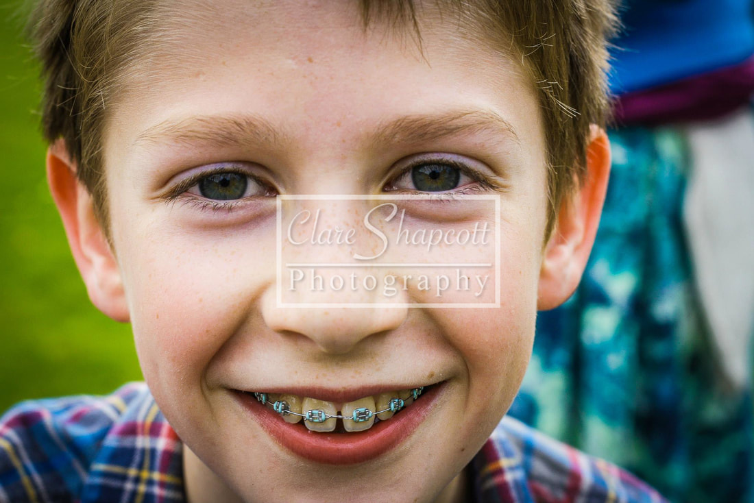 Professional Child Portrait Photograph Face Close Up