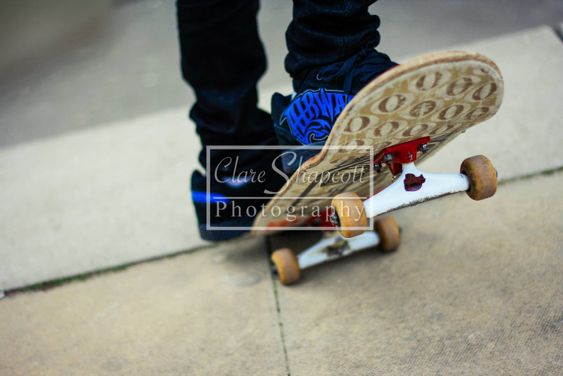 Professional Photograph Skateboard Close up