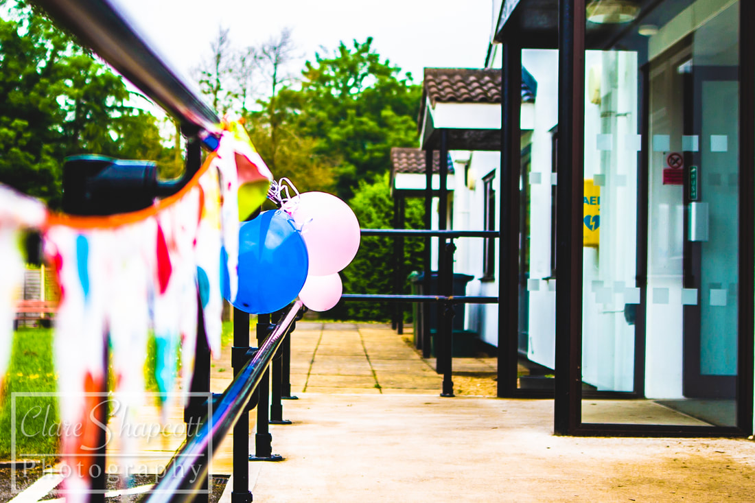 Party balloon photography at Iron Acton, Bristol.