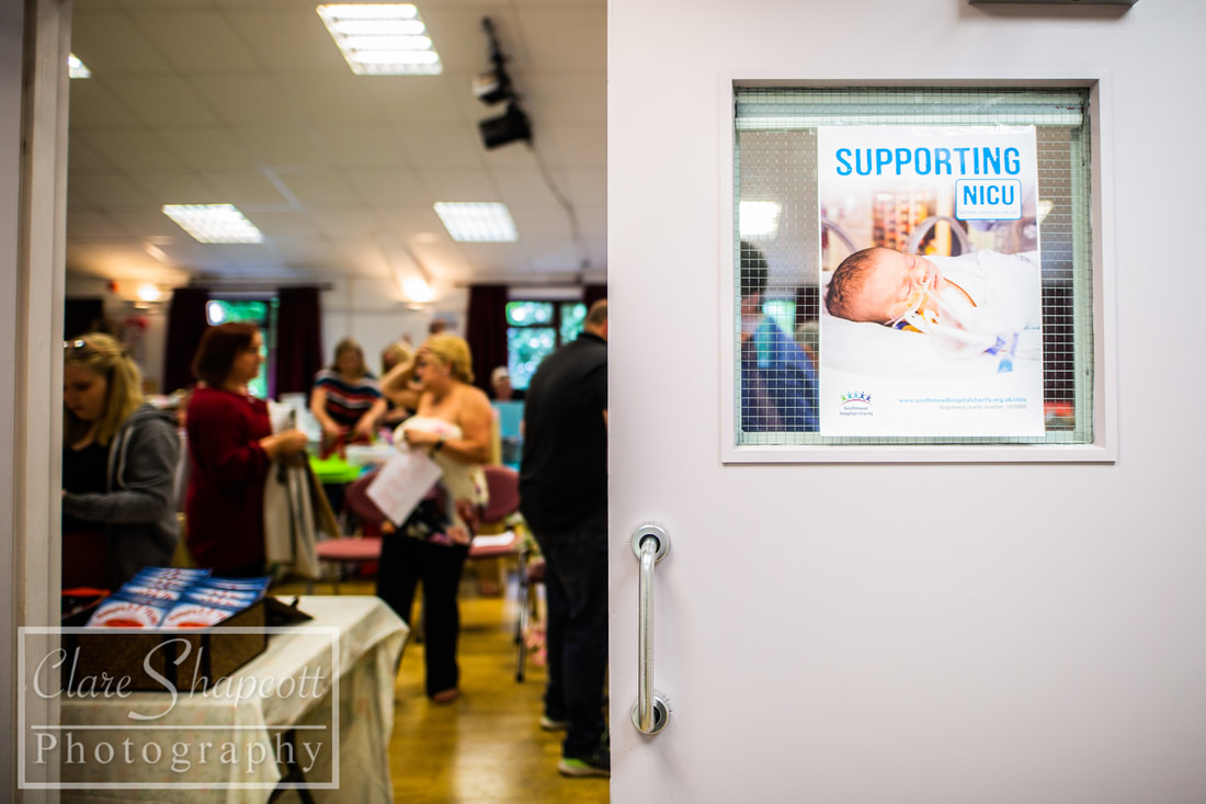Photography at a market in Bristol supporting Southmead NICU.