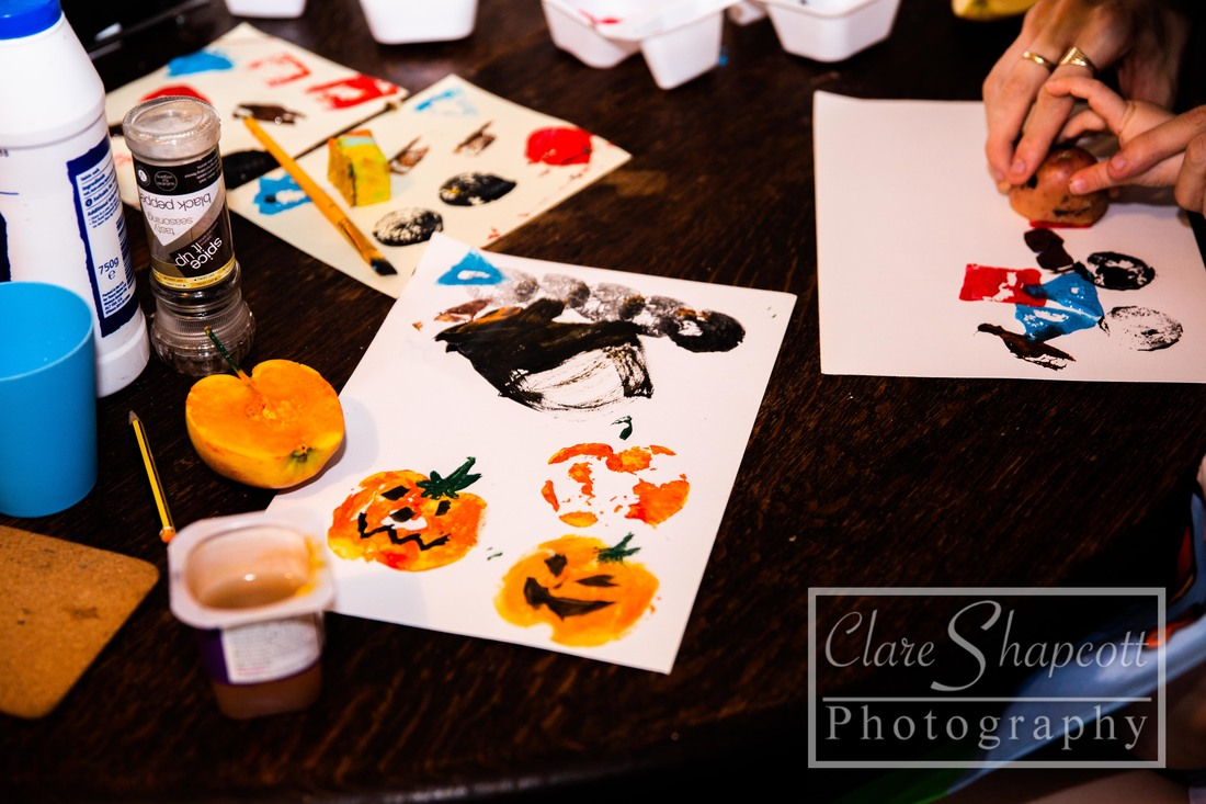 Halloween craft idea photograph Bristol