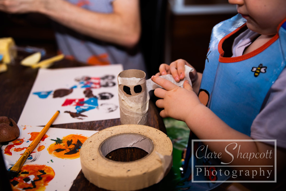 Toddler Messy Play Halloween Bristol
